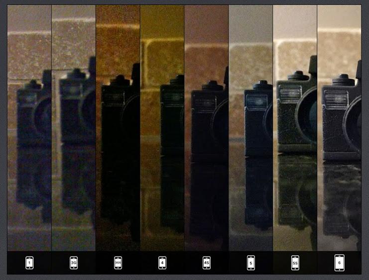 七年看見iPhone相機的歷代變化
