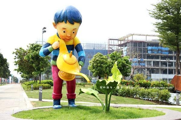 當台積電遇上幾米 南科藝術公園帶你進入童話世界(圖/Kuma)