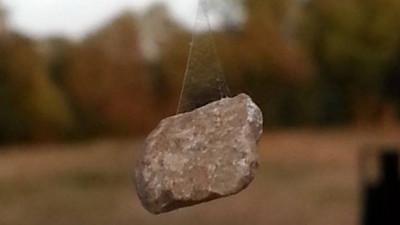 蜘蛛在門口懸吊巨石陷阱,哼想暗算我