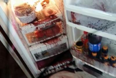 打開家裡冰箱…我的媽啊怎麼都是血?
