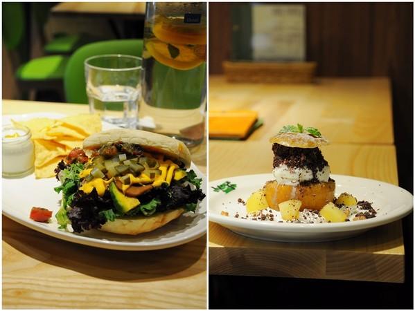 菜菜子在台灣生活比香港容易!台北素食大集合