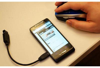 手機觸控失靈?接上滑鼠就輕鬆搞定