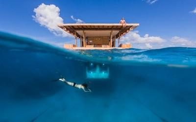 非洲水下旅館,我願意在這漂流一輩子