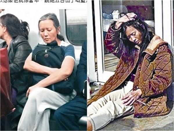 藍潔瑛過去是香港娛樂圈的玉女紅星,模樣清純可人,和現在憔悴邋遢的模樣簡直判若兩人,嚇傻網友。(圖/新浪娛樂、翻攝自《東周網》、網路)