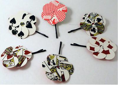 報銷撲克牌變飾品,52種花色隨意搭配