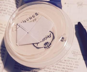 圖書館的純愛告白♡布丁盒載著小紙條