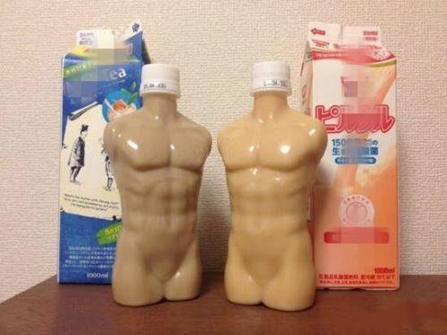 日本,櫻花妹,飲料,造型,赤裸,肌肉,猛男