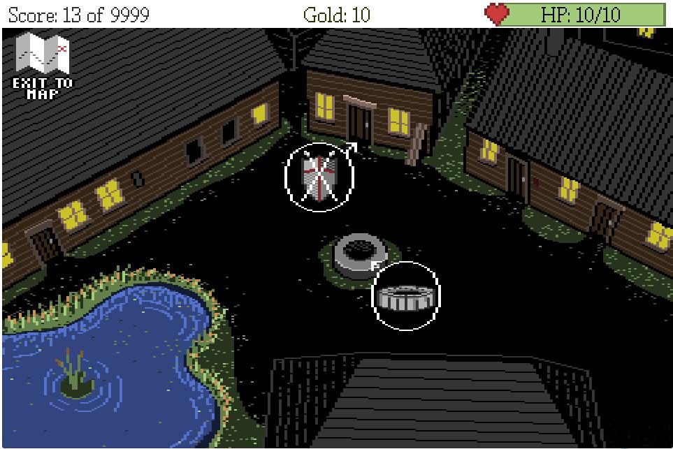 像素风复古冒险RPG《黑暗恐惧》明年发布