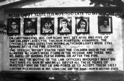 至今未解失蹤案:消失火場的薩德家孩子