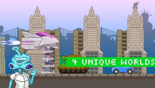 平台动作游戏新作《蓝星危机》上架苹果商店