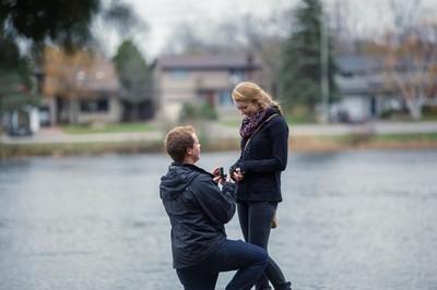男友請攝影師拍求婚,咦?人到哪去了