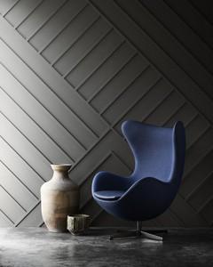 靛藍色布款蛋椅 全球限量999張
