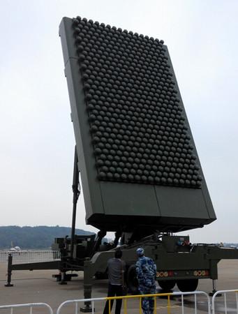 在珠海航展曝光的米波雷達「JY-26」。(圖/環球網)