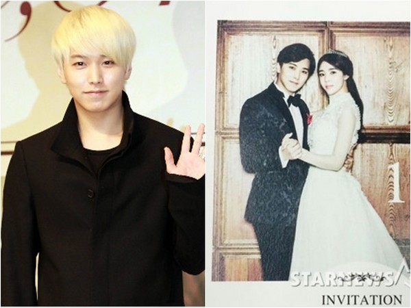Super Junior晟敏和未婚妻金思垠(金思恩)婚紗照曝光。(圖/翻攝自韓網nocutnews、starnews)