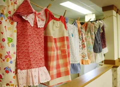 百歲嬤的生日願望,是縫衣給非洲小孩