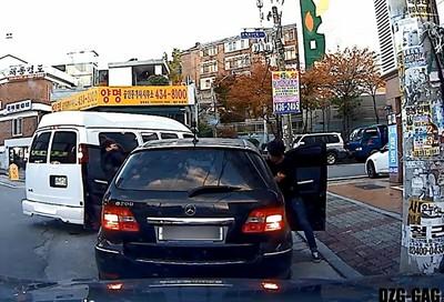 直擊南韓黑道攔車暴行,乾是我被耍了