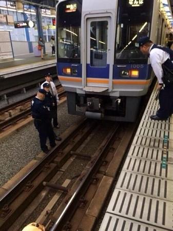 日本,跳軌,電車,自殺,遺體,屍體,大阪車站,都市傳說,x檔案