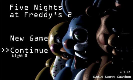 恐惧再临!《玩具熊的五夜后宫2》登陆安卓