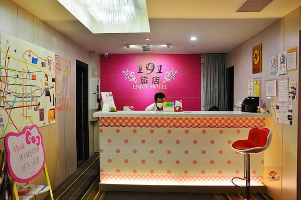 隱身寧夏夜市旁的旅店 Hello Kitty迷來過就不想走了