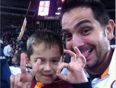 父子觀賽後身亡,AS羅馬把球迷穿上身