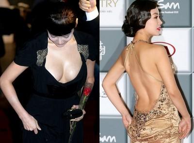 紅毯女星大尺度露身材,不露點都好?