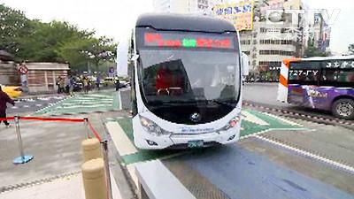 保留BRT專用道 調整「優先號誌」才能紓解塞車問題