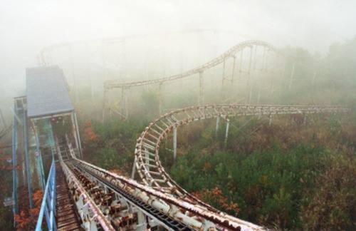 日本,廢棄遊樂園,地圖,意外,事故,遊樂園