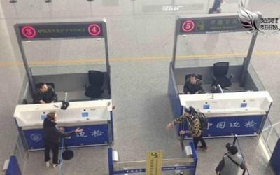 海關前互換護照,雙胞胎自己也分不清