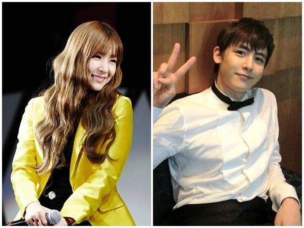 蒂芬妮、Nichkhun。(圖/翻攝自少女時代官方粉絲專頁、2PM官方粉絲專頁)