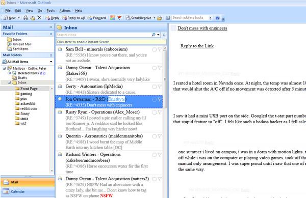 上班打混的神器! 網友把論壇轉換成email介面  ETtoday新奇  ETtoday新聞雲