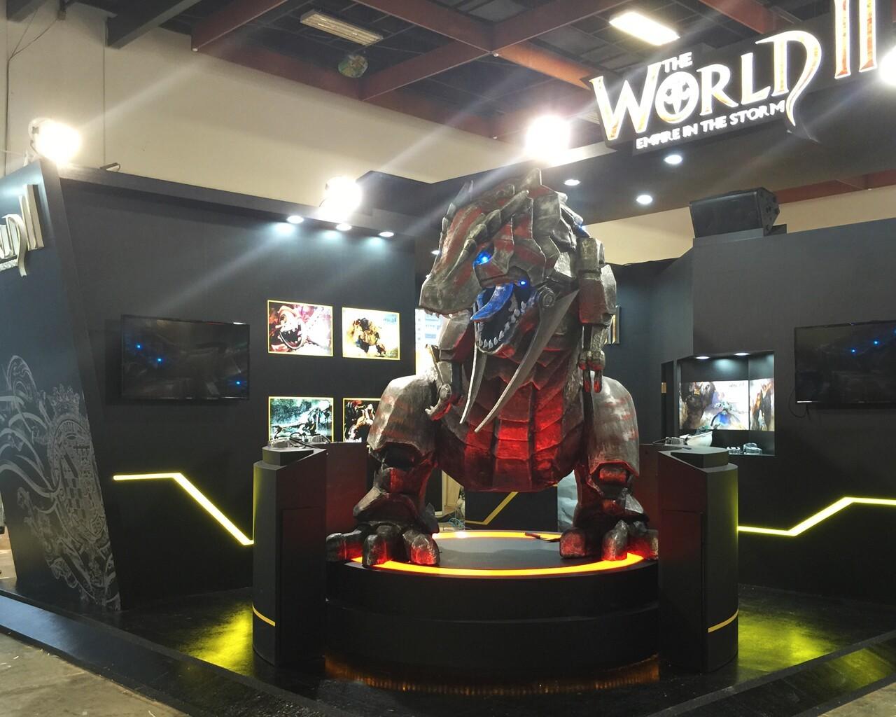 《世界二THE WORLD II》強攻國際電玩展