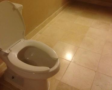 乍看是一般廁所,等到擦屁屁才發現..
