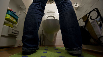 靠它仰頭張口,男生站著尿也不怕飛濺