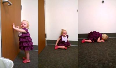 得知將有小妹妹,2歲Q姐徹底崩潰