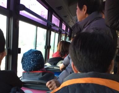 公車上撞見斷頭乘客..差點就嚇尿了