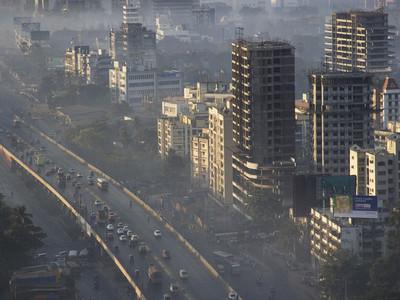 地球汙染嚇人真相,孟買呼吸1天=100菸