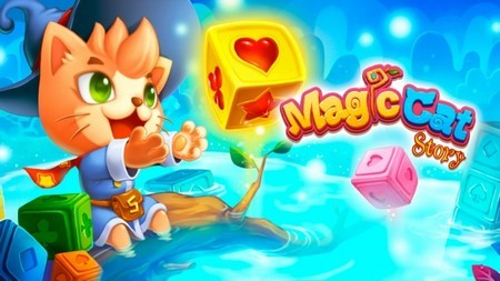 《MagicCatStory》魔法方塊消消樂