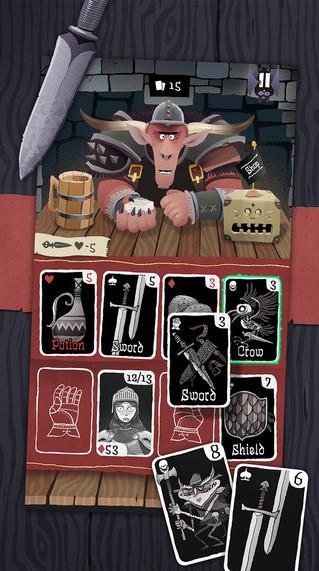 《Card Crawl》地牢冒險 是生是死自己決定