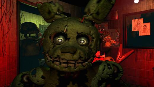 《Five Nights at Freddy's 3》恐怖玩偶要你命