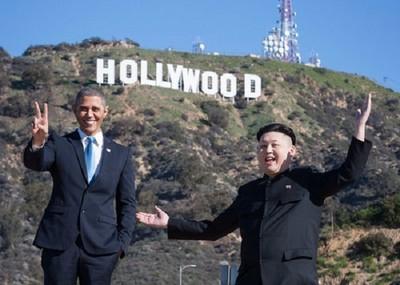 歐巴馬金正恩竟是好捧由,兩人同遊LA