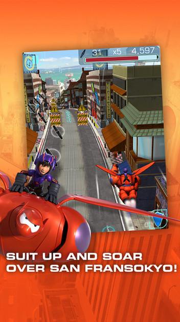 大白又來了!《Big Hero 6: Baymax Blast》上架