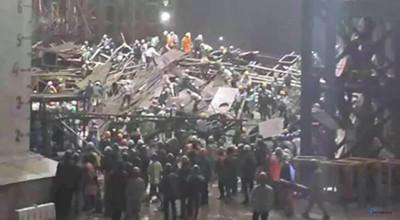 台塑越鋼廠鷹架倒塌14死30傷 疑承包商「三星」疏失
