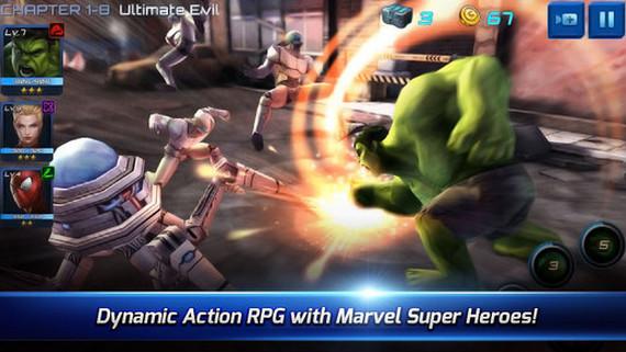《Marvel Future Fight》上架 英雄小隊出擊!